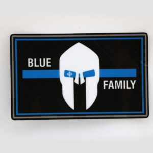 Aufkleber BLUE FAMILY thin blue line 300x300 - Home