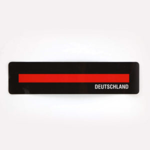 Aufkleber DEUTSCHLAND thin red line 300x300 - Tasse SPARTANER thin red line