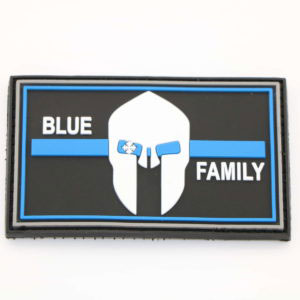 Klettpatch BLUE FAMILY  thin blue line 1 1 300x300 - Basecap + Wunschpatch