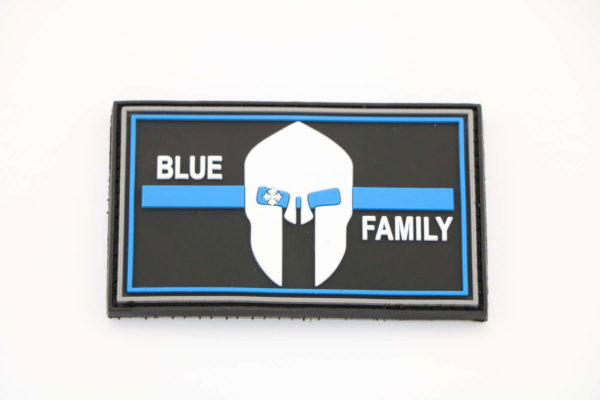 Klettpatch BLUE FAMILY  thin blue line 1 1 600x400 - Klettpatch BLUE FAMILY thin blue line