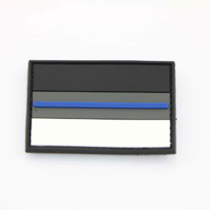 Klettpatch DEUTSCHLAND NIGHT CAMO THIN BLUE LINE 300x300 - Set ARMBAND & SCHLÜSSELANHÄNGER thin blue line