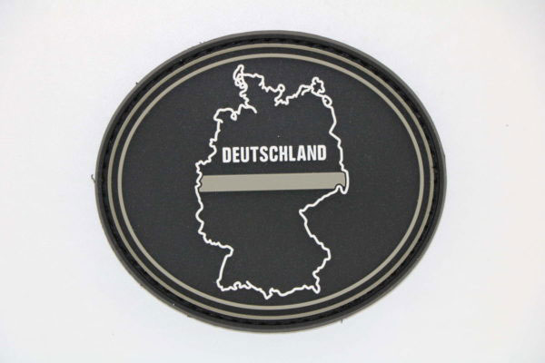 Klettpatch DEUTSCHLAND OVAL thin grey line 600x400 - Klettpatch DEUTSCHLAND OVAL thin grey line