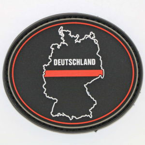 Klettpatch_DEUTSCHLAND_OVAL_thin_red_line