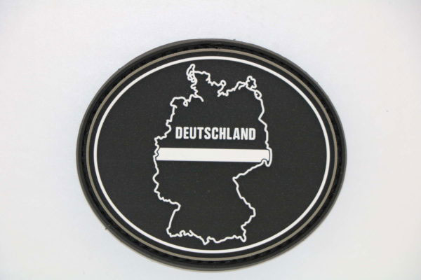 Klettpatch DEUTSCHLAND OVAL thin white line 600x400 - Klettpatch DEUTSCHLAND OVAL thin white line