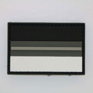 Klettpatch Deutschland NIGHT CAMO thin grey line 300x300 - Klettpatch THIN GREY LINE