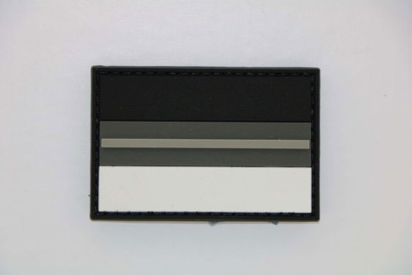 Klettpatch Deutschland NIGHT CAMO thin grey line 600x400 - Klettpatch Deutschland NIGHT CAMO thin grey line