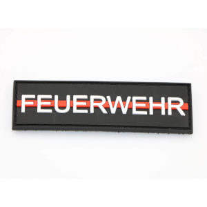 Klettpatch FEUERWEHR thin red line 300x300 - Klettpatch DEUTSCHLAND OVAL thin red line