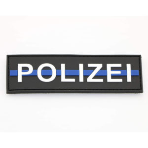 Klettpatch POLIZEI thin blue line 300x300 - Klettpatch POLIZEI thin blue line