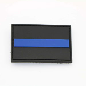 Klettpatch THIN BLUE LINE  300x300 - Basecap + Wunschpatch