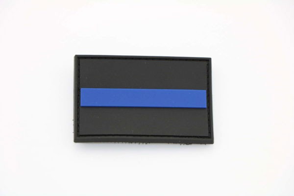 Klettpatch THIN BLUE LINE  600x400 - Klettpatch THIN BLUE LINE