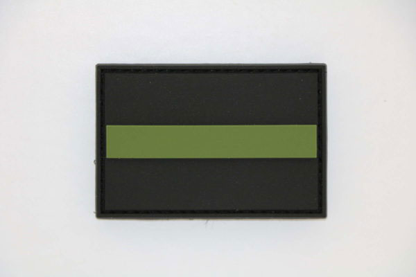 Klettpatch THIN GREEN LINE 600x400 - Klettpatch THIN GREEN LINE
