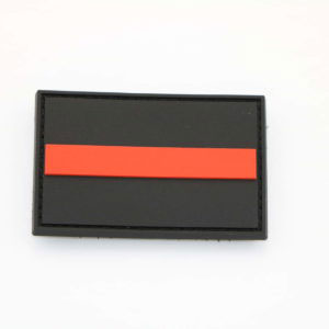 Klettpatch THIN RED LINE 300x300 - Klettpatch THIN RED LINE