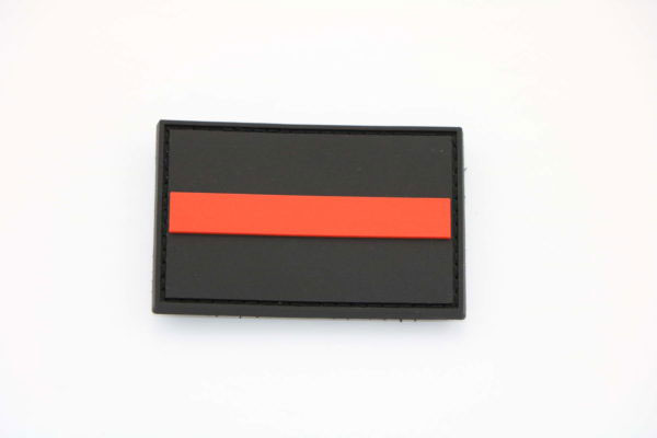 Klettpatch THIN RED LINE 600x400 - Klettpatch THIN RED LINE