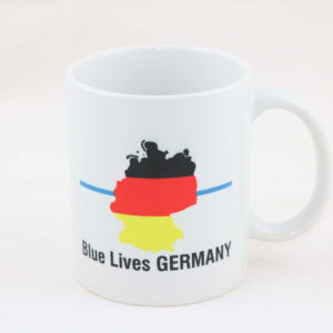 Tasse DEUTSCHLAND thin blue line 300x300 - Tasse SPARTANER thin blue line