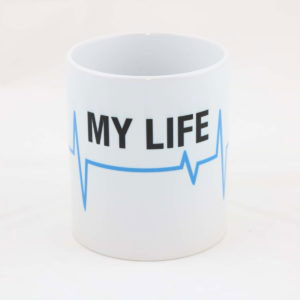 Tasse MY LIFE thin blue line 300x300 - Tasse SPARTANER thin blue line