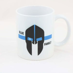 Tasse SPARTANER thin blue line 300x300 - Aufkleber DEUTSCHLAND thin blue line