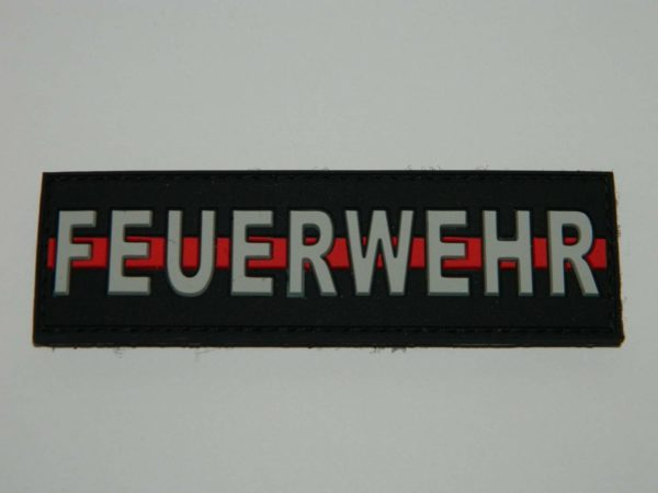 dscn0181 min 600x450 - Klettpatch FEUERWEHR thin red line (alte Version)