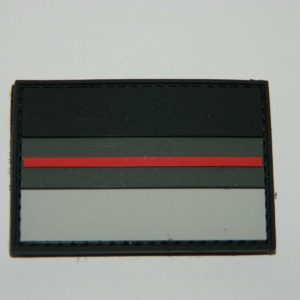 dscn0182 min 300x300 - Klettpatch DEUTSCHLAND OVAL thin red line