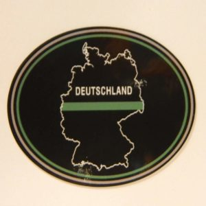 dscn0236 min 300x300 - Klettpatch DEUTSCHLAND OVAL thin green line