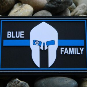 dscn1247 min 300x300 - Klettpatch BLUE FAMILY thin blue line